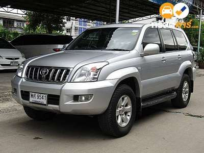 TOYOTA LAND CRUISER 7ST PRADO 4DR SUV 4.7I 4AT 2007