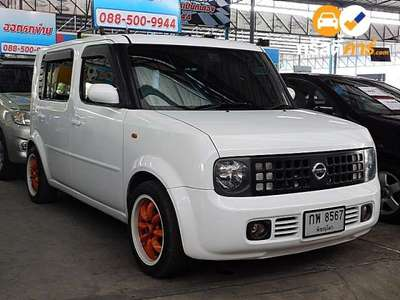 NISSAN CUBE CVT 4DR HATCHBACK 1.4I 5AT 2012
