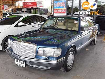 BENZ 500 4DR SEDAN 5.0I 4AT 1987