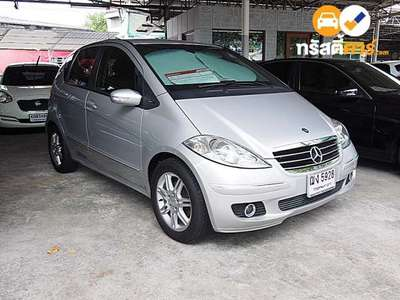 BENZ A-Class AVANTGARDE CVT A170 4DR MPV 1.7I 7AT 2008