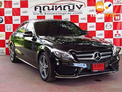 BENZ C-Class C300 BLUE TEC HYBRID AMG DYNAMIC G-TRONIC PLUS 4DR SEDAN 2.1DTT 7AT 2016