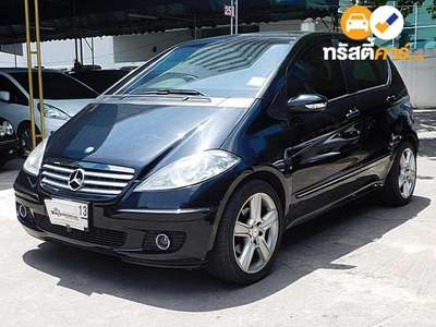BENZ A-Class AVANTGARDE CVT A170 4DR MPV 1.7I 7AT 2009