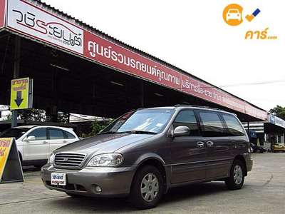 KIA CARNIVAL GS 7ST 4DR WAGON 2.4I 4AT 2004
