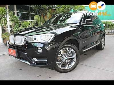 BMW X3 XDRIVE 20D HIGHLINE STEPTRONIC 4DR SUV 2.0DCT 8AT 2015