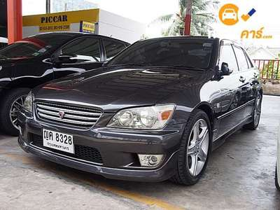 TOYOTA ALTEZZA 4DR SEDAN 2.0I RS200 5AT 1999