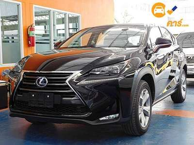 LEXUS NX LUXURY CVT 4DR WAGON 2.5I 7AT 2016