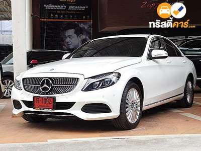 BENZ C-Class C300 BLUE TEC HYBRID EXCLUSIVE G-TRONIC PLUS 4DR SEDAN 2.1DTT 7AT 2016