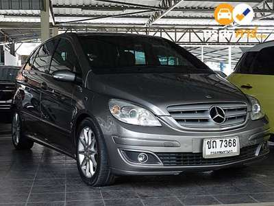 BENZ B-Class SPORT TOURER CVT B180 CDI 4DR HATCHBACK 2.0DTI 7AT 2006
