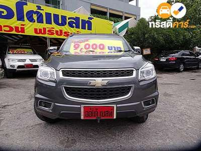CHEVROLET TRAILBLAZER LTZ 7ST 4DR SUV 2.8DCT 6AT 2015