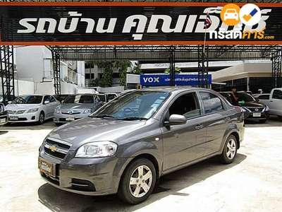 CHEVROLET AVEO BASE 4DR SEDAN 1.6I 4AT 2013