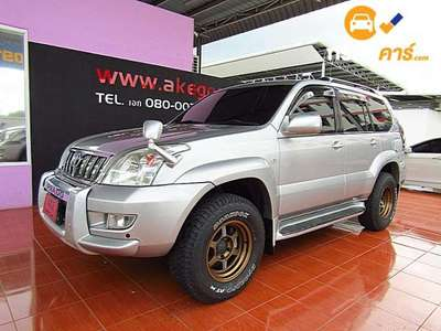 TOYOTA LAND CRUISER 7ST PRADO 4DR SUV 3.4I 4AT 2003