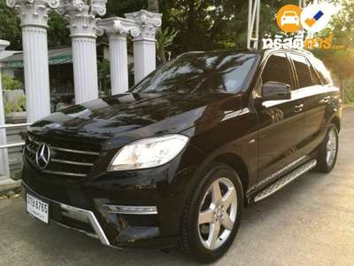 BENZ ML-Class SPORTS G-TRONIC ML250 CDI BLUEEFFICIENCY AMG 4DR SUV 2.1DTI 7AT 2012