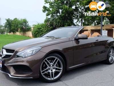 BENZ E-Class E200 AMG DYNAMIC G-TRONIC PLUS 2DR CONVERT 2.0TI 7AT 2016