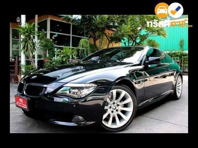 BMW Series 6 SMAC 630CI 2DR COUPE 3.0I 6MT 2009