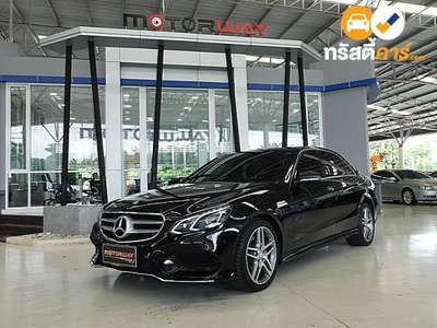 BENZ E-Class AMG DYNAMIC BLUE TEC HYBRID G-TRONIC PLUS E300 4DR SEDAN 2.1DTT 7AT 2015