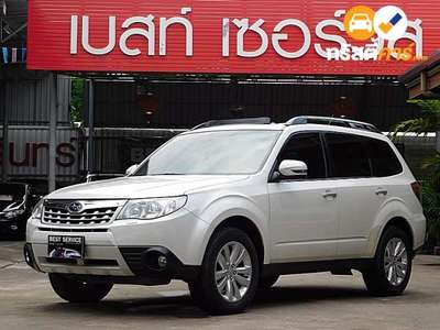 SUBARU FORESTER CVT 4DR SUV 2.0I 8AT 2013