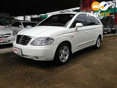SSANGYONG SSANGYONG STAVIC SV270 EXCLUSIVE 11ST 4DR WAGON 2.7DCT 5AT 2011