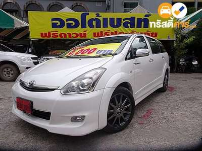 TOYOTA WISH Q SPORT TOURING II 6ST 4DR WAGON 2.0I 4AT 2008
