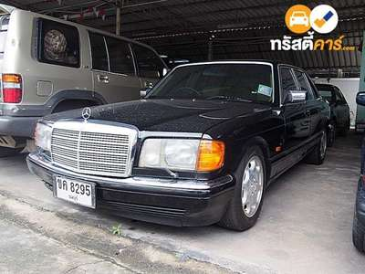 BENZ 500 4DR SEDAN 5.0I 4AT 1990