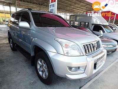 TOYOTA LAND CRUISER 7ST PRADO 4DR SUV 3.0I 4A 2003