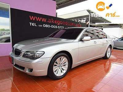 BMW Series 7 STEPTRONIC 740LI 4DR SEDAN 4.0I 6AT 2008