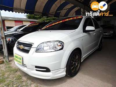 CHEVROLET AVEO LSX 4DR SEDAN 1.6I 4AT 2012