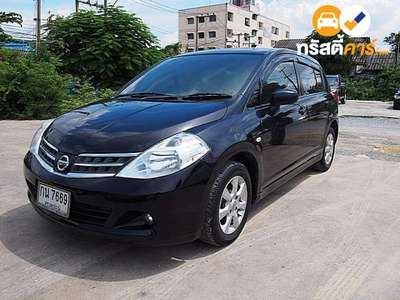 NISSAN TIIDA G 4DR HATCHBACK 1.6I 4AT 2012