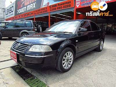 VOLKSWAGEN PASSAT TDI SA 4DR SEDAN 1.9DTI 5AT 2002