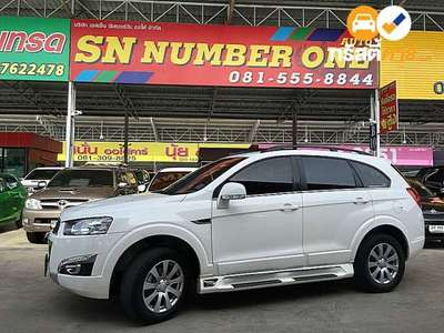 CHEVROLET CAPTIVA LSX 7ST TIPTRONIC 4DR SUV 2.4I 6AT 2014