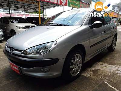 PEUGEOT 206 XS SA 4DR HATCHBACK 1.4I 4AT 2005