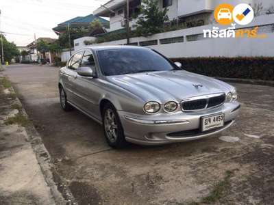 JAGUAR X-TYPE 4DR SEDAN 2.0I 5AT 2002