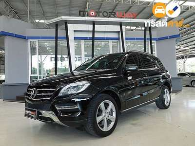 BENZ ML-Class G-TRONIC ML250 CDI BLUEEFFICIENCY 4DR SUV 2.1DTI 7AT 2015