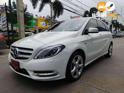 BENZ B-Class G-TRONIC B200 BLUEEFFICIENCY 4DR HATCHBACK 1.6I 7AT 2012