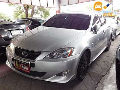 LEXUS IS LUXURY 4DR SEDAN 2.5I 4AT 2008