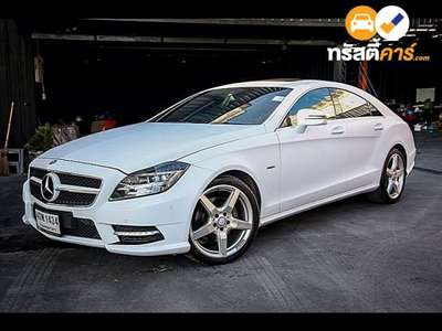 BENZ CLS-Class G-TRONIC CLS350 BLUEEFFICIENCY 4DR SEDAN 3.5TTI 7AT 2012