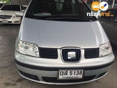 SEAT ALHAMBRA 7ST TIPTRONIC 4DR WAGON 1.9DTI 4AT 2002