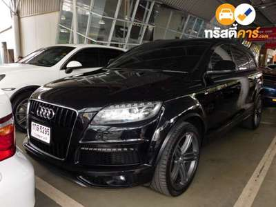 AUDI Q7 QUATTRO 7ST TIPTRONIC 4DR WAGON 3.0DTI 6AT 2012
