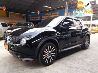 NISSAN JUKE E XTRONIC CVT FWD 1.6I (CBU) 4DR SUV 1.6I 0AT 2014