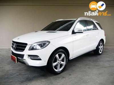 BENZ ML-Class G-TRONIC ML250 CDI BLUEEFFICIENCY 4DR SUV 2.1DTI 7AT 2014