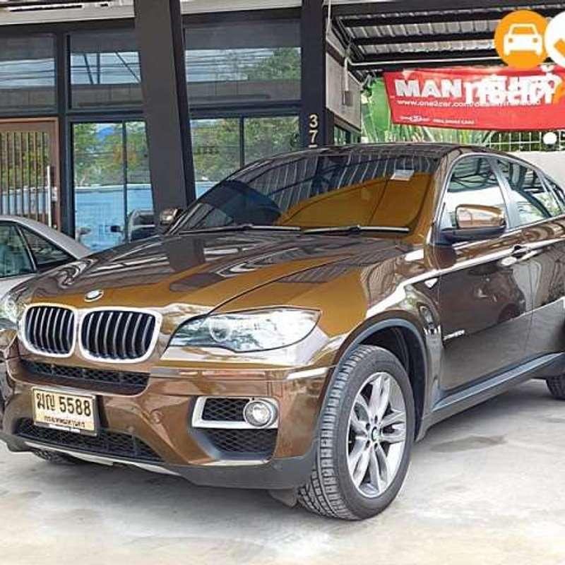ขายรถ BMW X6 มือสอง ปี 2012 สีดำ #BE0178 คุณภาพดี ราคาถูก