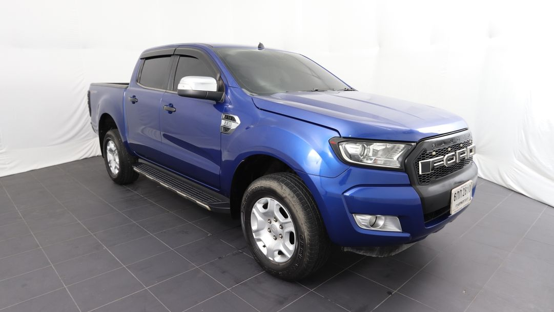 FORD RANGER 2.2 XLT DOUBLE CAB 2016 น้ำเงิน
