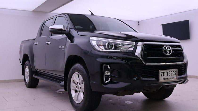 TOYOTA HILUX REVO 2.8 G DOUBLE CAB PRERUNNER 2WD 2017 ดำ