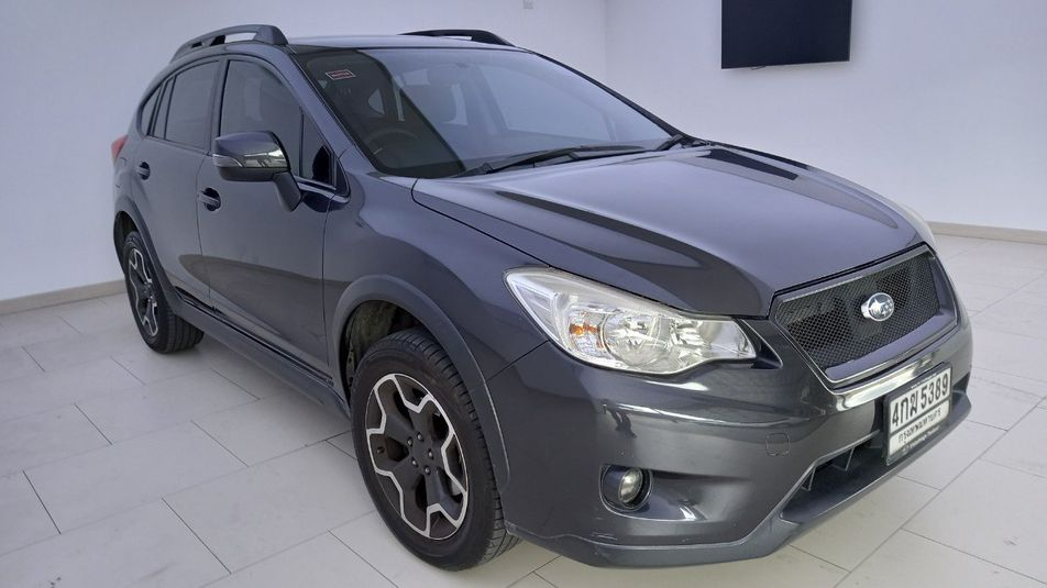 SUBARU XV 2.0 I AWD CVT 2014 เทาดำ