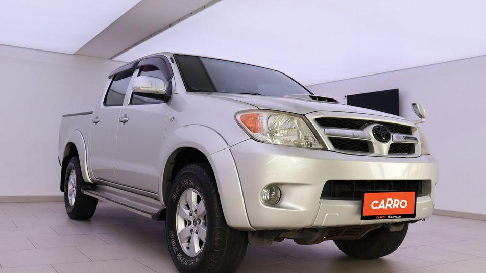 TOYOTA HILUX VIGO 3.0 E DOUBLE CAB PRERUNNER (ABS) 2008 เทา